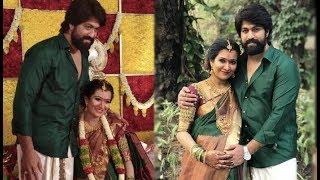 Sandalwood stars wish KGF star Yash's wife Radhika Pandit at baby shower ceremony
