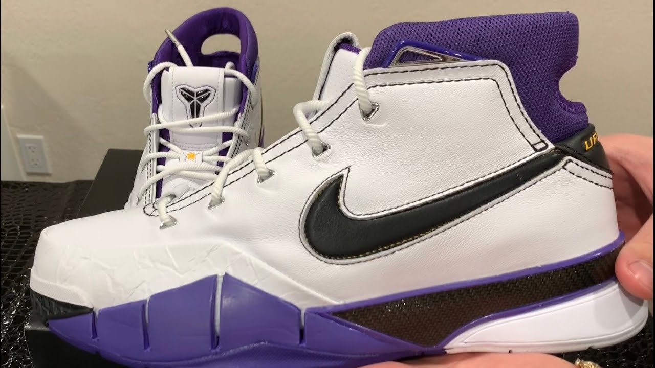 ab77a793b44 Early Review  Nike Kobe 1 Protro 81 Point Game Unboxing   Review ...