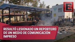 Procuraduría capitalina investiga riña entre simpatizantes de Morena y PRD