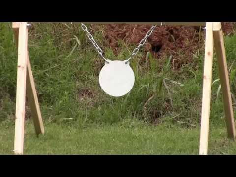 Homemade Steel Target Stand Made From Scrap 2X4's
