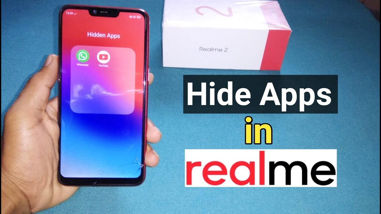 How to Hide & Unhide Apps in RealMe 2 and RealMe Other Devices