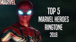 top 5 marvel heroes ringtone 2018 download now