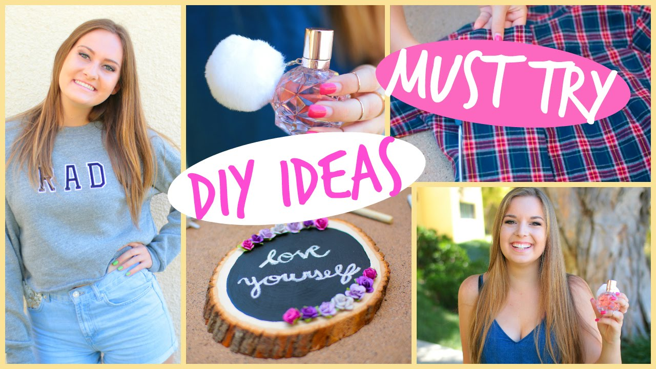 5 diy projects every girl should try youtube solutioingenieria Choice Image