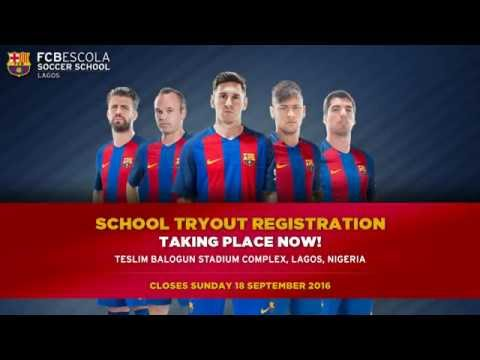 FCBEscola Lagos, FCBarcelona's official football academy in Nigeria