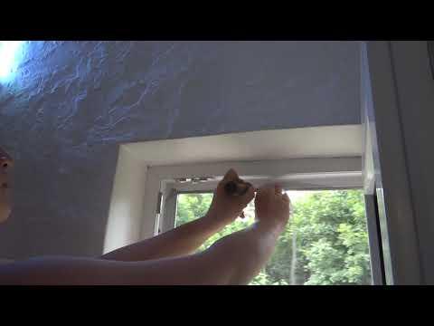 видео: Москитная сетка своими руками