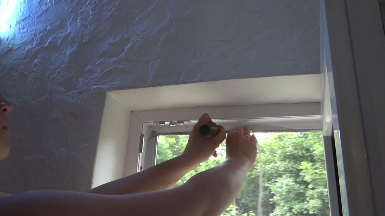 Как сделать москитную сетку для окна своими руками фото 857
