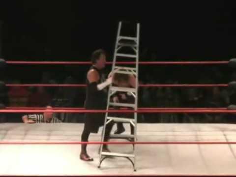 John McChesney vs. Adam Flash - Ladder Match (2/3)