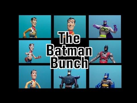BRADY BUNCH Theme Song Open Parody:  Batman Toys, Woody, TOY STORY 4! Batman Parody Song!