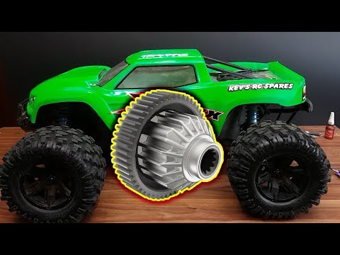 How to fit a Torsen Centre Diff and Cush Drive to a 6s Traxxas X-Maxx