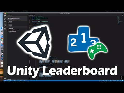 Unity Leaderboard Tutorial In Less Than 15 Minutes (Android & IOS)