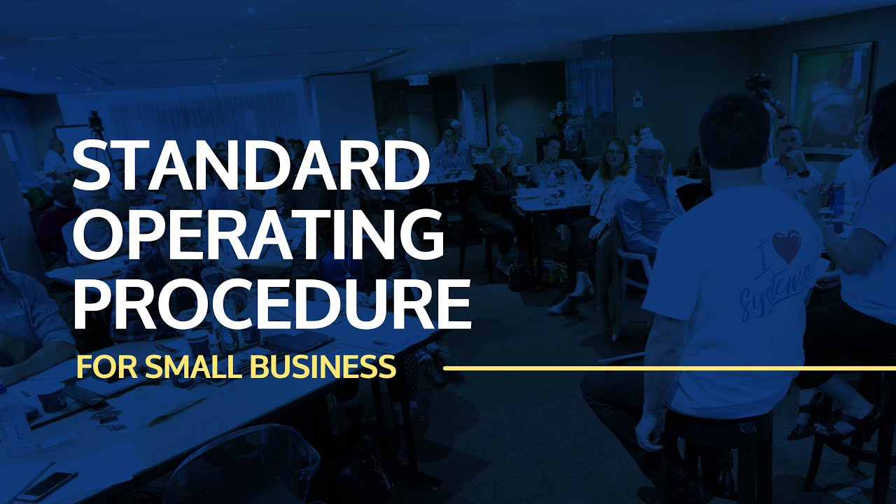 Standard Operating Procedure Examples For Small Business