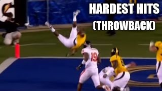 hardest hits in college football top 25 throwback