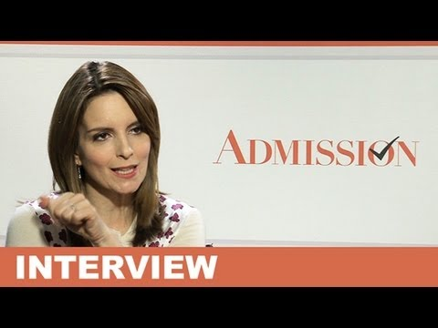 Tina Fey Interview - Admission 2013 & The Muppets 2 2014 : Beyond The Trailer
