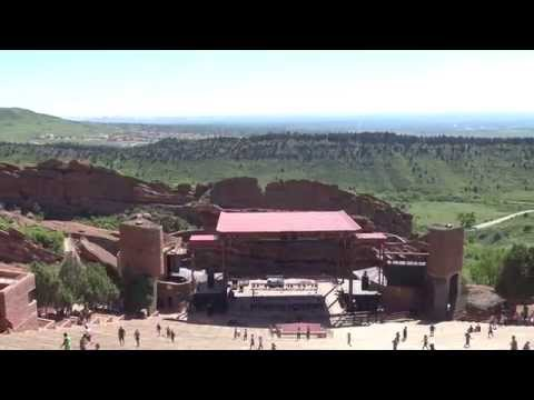 Red Rocks Amphitheatre Touring In 4K