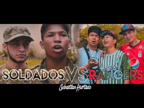 Soldados Vs El Brayan, El Kevin -Sebastian Hurtado- Ft. Rangers.v