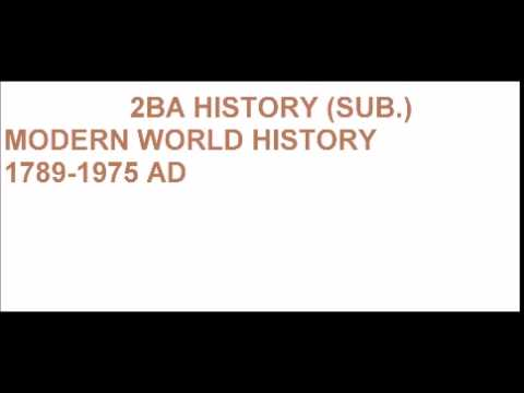 MODERN WORLD HISTORY League of Nations-Causes of failure, Structure and Success