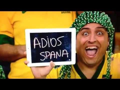 ADIOS SPANA !!! (FIFA World Cup 2014 Brazil) Spain - Chile 0:2