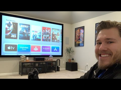 Quick Overview  Budget Friendly 4K Home Theater/ Man Cave Ideas