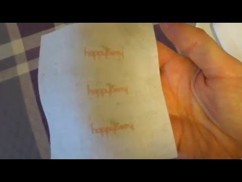 (craft) How To - Print Your Own Fabric Labels