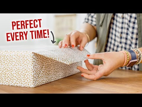 How to Perfectly Wrap a Christmas Gift - HGTV Handmade