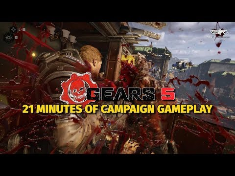 Watch Us Shoot The Swarm In 20 Minutes of Gears 5 Gameplay