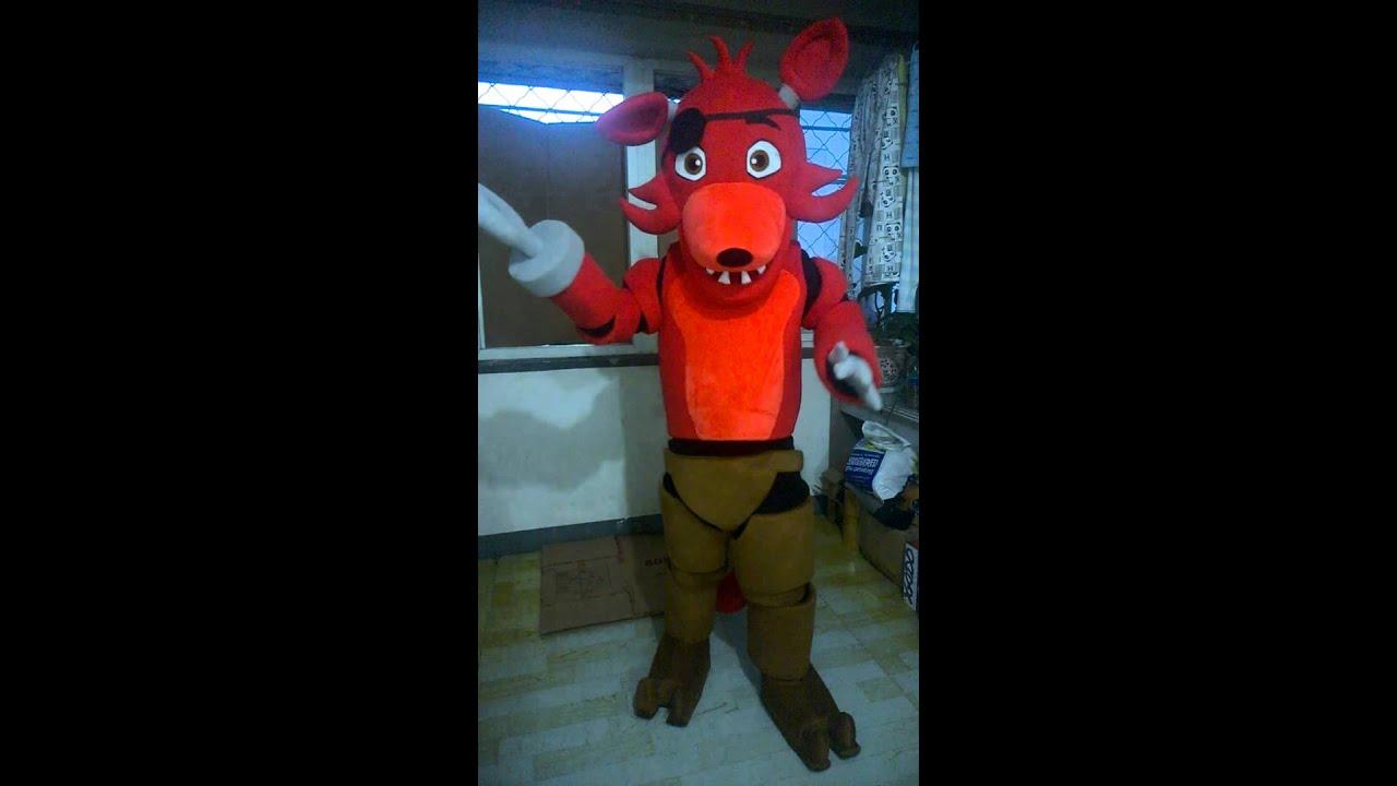 Alive FNAF Foxy CostumesFive Nights At Freddyu0027s Foxy & Alive FNAF Foxy CostumesFive Nights At Freddyu0027s Foxy - YouTube