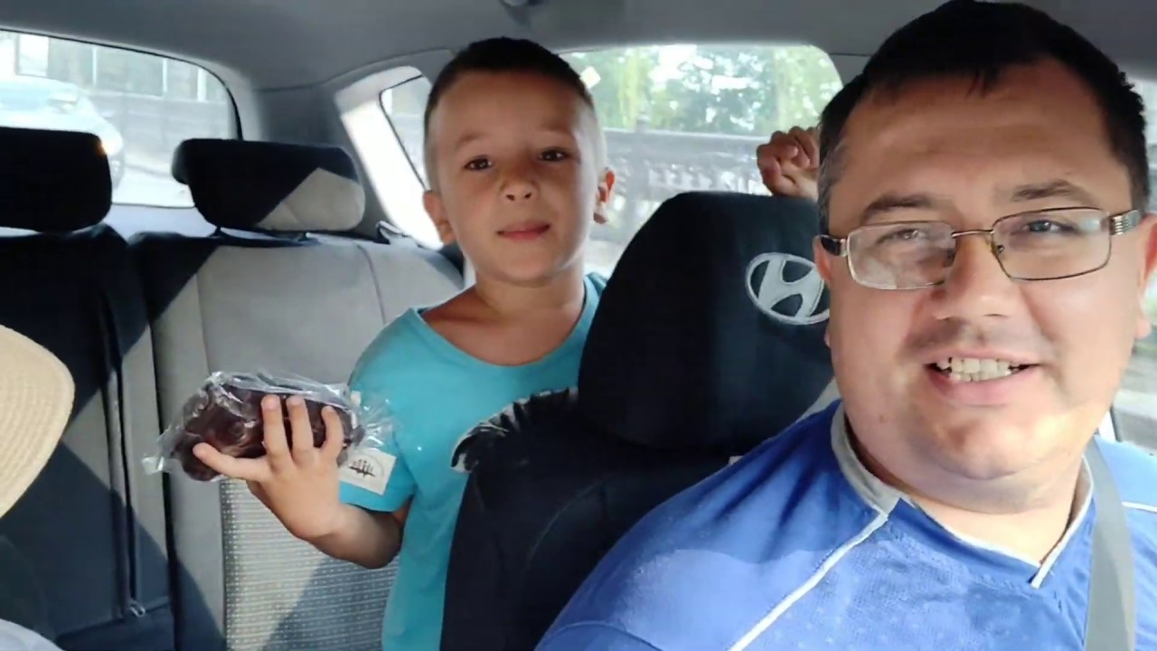 я с тетей в машине - 9