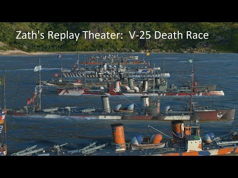 V-25 Death Race featuring LittleWhiteMouse, RivertheRoyal, D