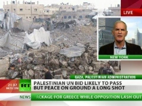 Finkelstein: Palestinians battle Israel's war crimes with UN bid