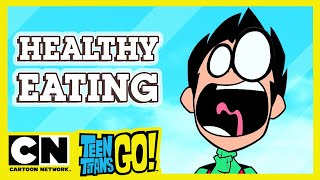 Teen Titans Go! | Guide To Healthy Eating | Cartoon Network UK