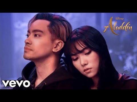"Gamaliel, Isyana Sarasvati - A Whole New World (Official Lyrics) (Terjemahan) (From ""Aladdin 2019"")"