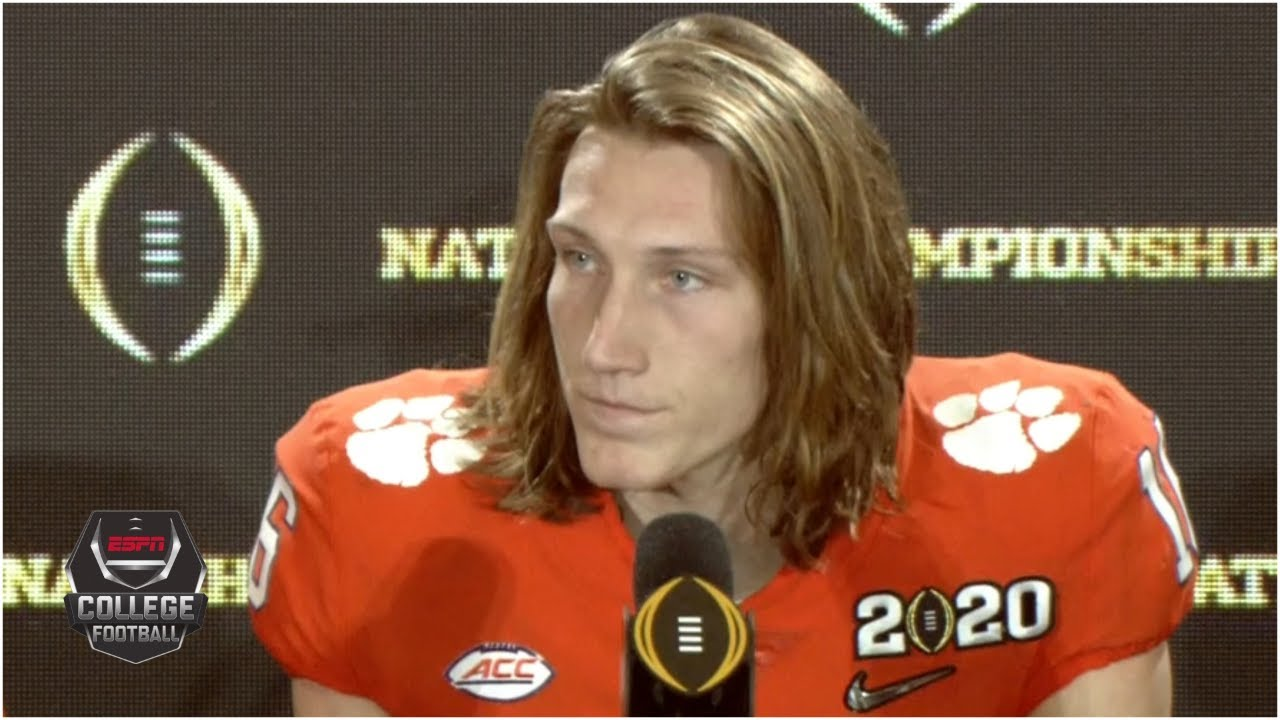 Trevor Lawrence leads college football players in speaking out to ...