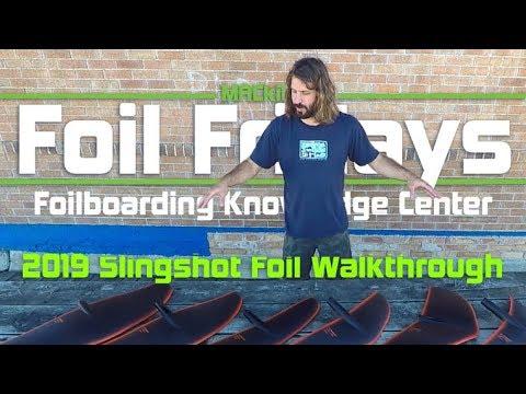 2019 Slingshot Foil Wing Walkthrough