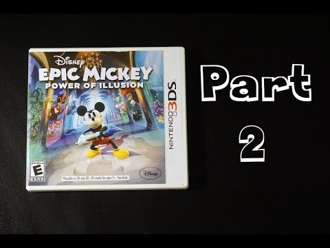 Let's Play - Epic Mickey: Power of Illusion (part 2 with commentary)