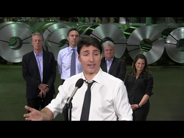 Prime Minister Justin Trudeau announced Friday that the U.S. has agreed to lift its punitive tariffs on steel and aluminum, putting an end to a year-long dispute.