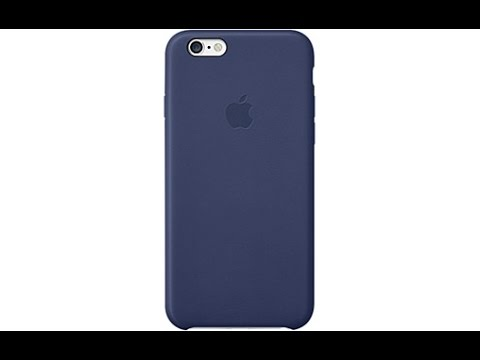 coque iphone 6 bleu marine en cuir d 39 apple youtube