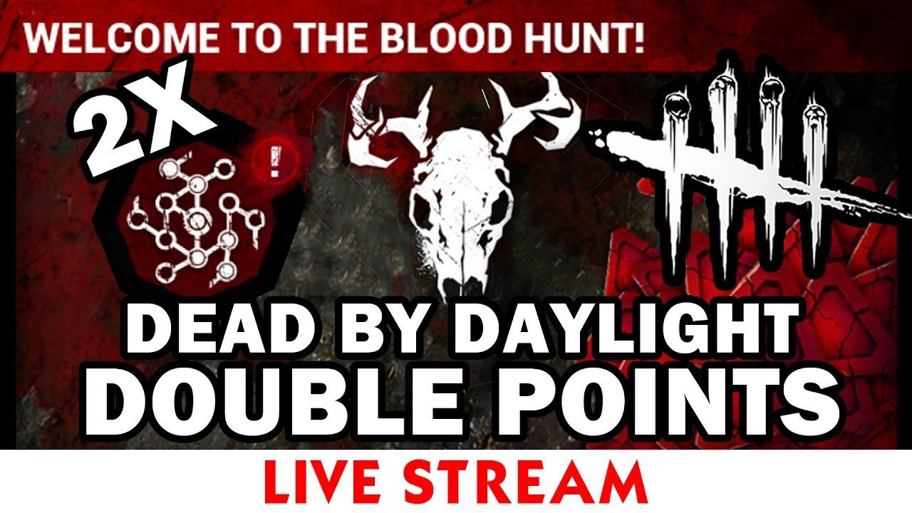 dead by daylight double bloodpoints 2018
