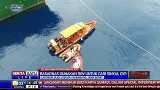 Basarnas Gunakan ROV Cari CVR Lion Air