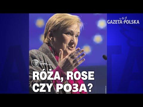 Róża, Rose czy Roza - czyją lobbystką jest polska europoseł?
