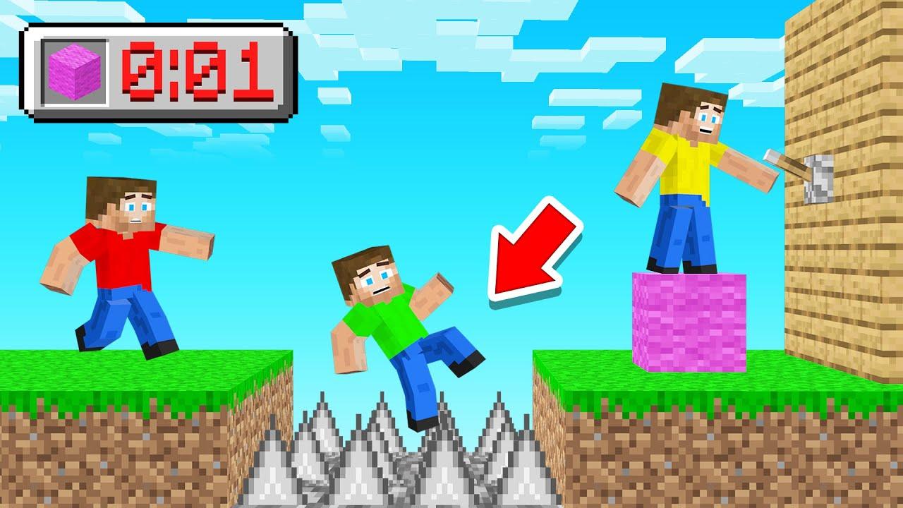 I TROLLED My Friends In BLOCK SHUFFLE & WON! (Minecraft)