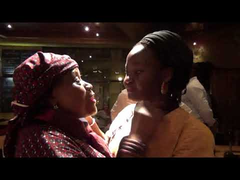 Behind the scene , a little chat with a mama from Congo in Bruxelles