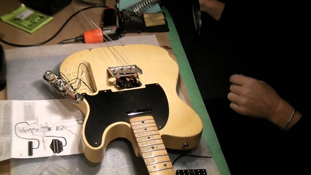 Telecaster Seymour Duncan Install Youtube Wire Diagram For