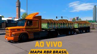 🚛 MAPA RBR BRASIL ETS 2 1.36 SCANIA 142H 50T TUBOS DE CONCRETO 2MIL KM #ETS2