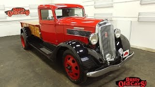 dustyoldcars 1936 reo speedwagon sn1928