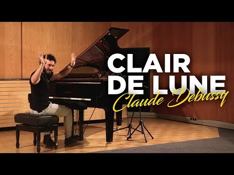 Debussy - Clair de Lune - Avner Piano