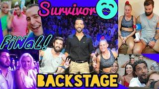 Survivor Final Backstage |Elinaki TV
