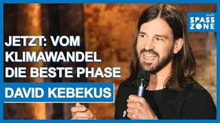 David Kebekus: Umweltschutz, Strohhalm und Fridays for Future
