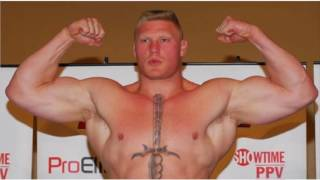 Brock Lesnar - on Steroids