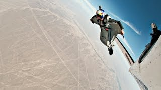 First Wingsuit Flight Over The Nazca Lines