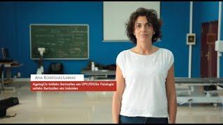 """Zientzialari 145 -Ana Rodriguez-Larrad: """"Gure osasun fisikoa, afektiboa eta kognitiboa lotuta daude"""""""